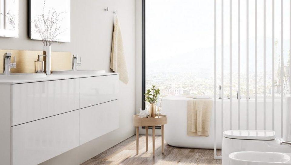 Baños para parejas: Comparte espacio