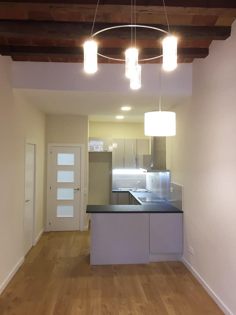 Reforma integral vivienda 85m² en Barcelona