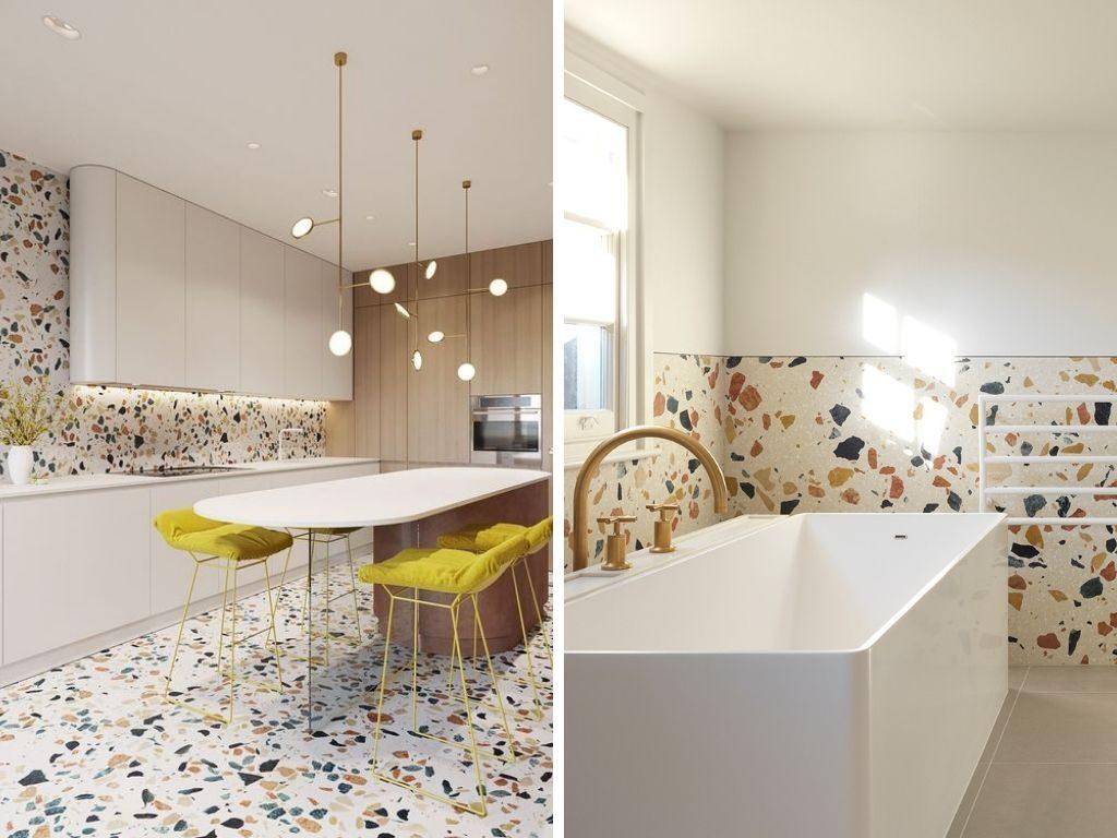 Nuevas tendencias de decoración para el hogar 2020: Vuelve el terrazo