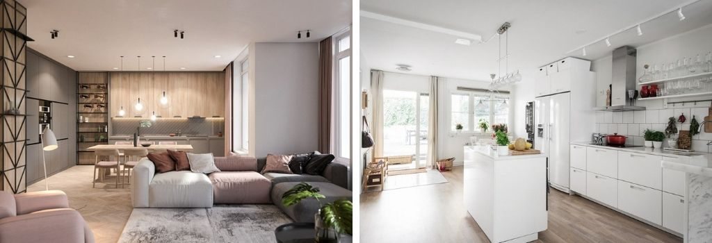 Ejemplos de diseño interior escandinavo