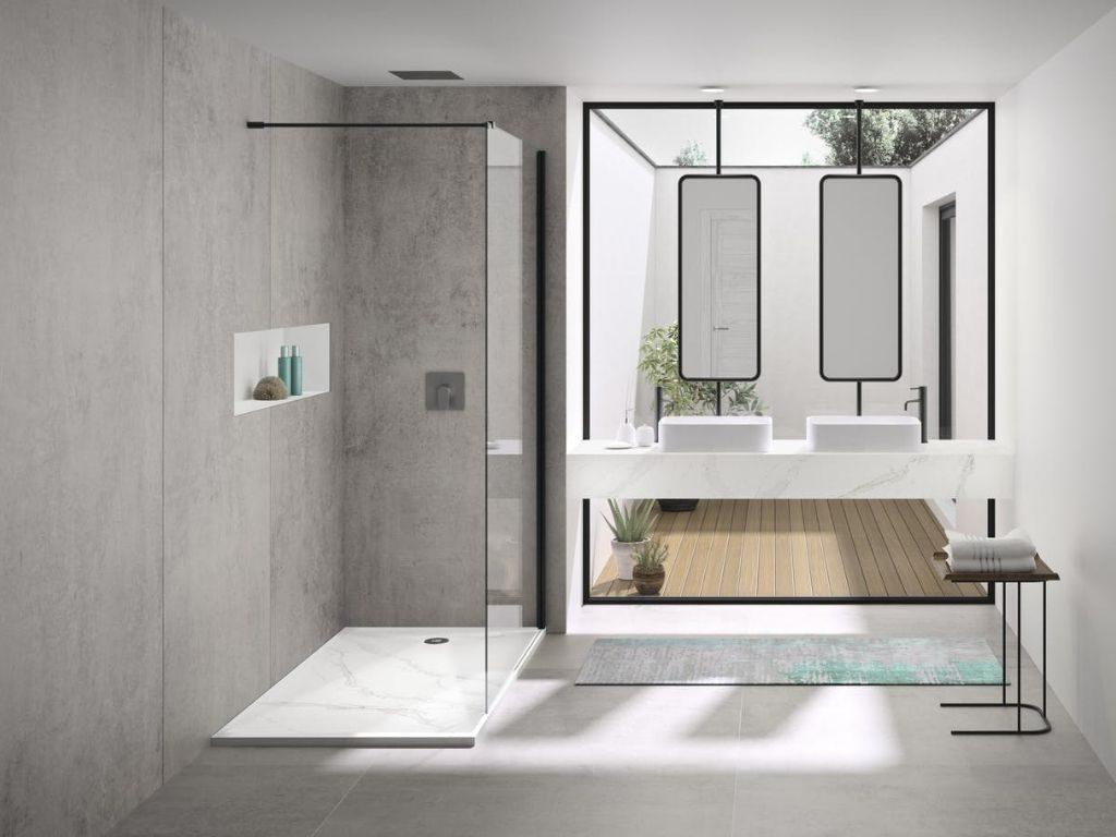 La tendencia de las duchas italianas
