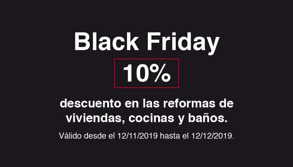 Aprovecha las ofertas del Black Friday para reformar tu vivienda